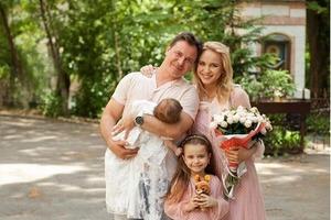 Лілія Ребрик показала фото з хрестин дочки