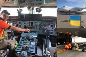 Канадец набил себе тату Антонова и встречает наши самолеты с флагом Украины
