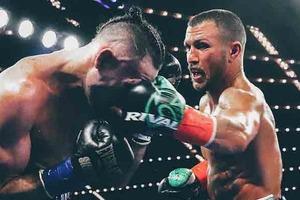Ломаченко объединил пояса WBA и WBO, уверенно победив Педрасу