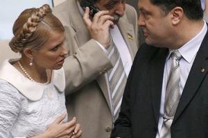 Тимошенко со своими генералами пошла в атаку на Порошенко