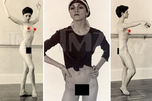 Редкие фото голой 18-летней Мадонны пустят с молотка