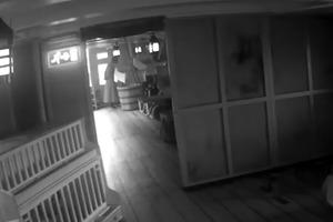 Призрак жены адмирала Нельсона гуляет по его кораблю. Опубликовано загадочное видео