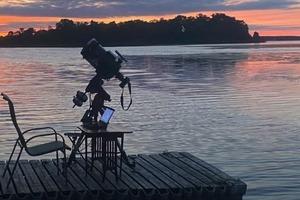В Сети начались трансляции солнечного затмения