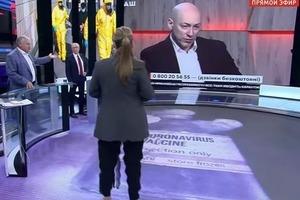 У Скабеевой з Поповим пригоріло від заяви українського журналіста