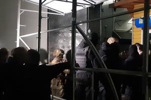 На 7 километре под Одессой идут столкновения между турками и спецназом СБУ