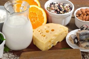 В каких продуктах питания кальция больше, чем в стакане молока