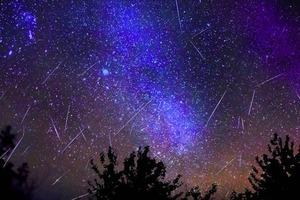 Этой ночью украинцы увидят последний звездопад в этом году