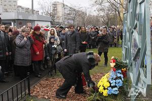 Герою Революции Достоинства посвятили новый сквер в Киеве