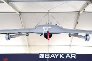 Турция впервые представила новый беспилотник вертикального взлета и посадки