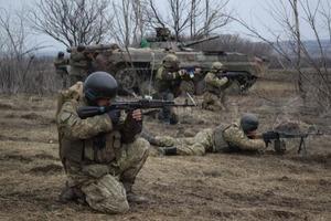 Один боец ВСУ погиб за сутки на Донбассе