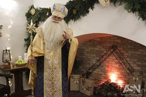Святий Миколай відкрив резиденцію в центрі Києва