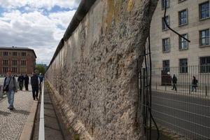 В Германии обнаружен забытый участок Берлинской стены