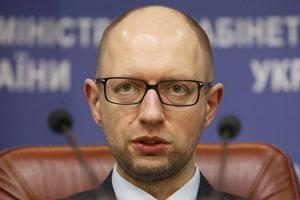 Яценюк: Закон о реинтеграции - первый шаг к введению миротворцев ООН на Донбасс