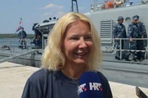 В Адриатическом море нашли британку, которая вывалилась из круизного лайнера