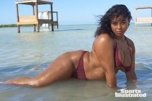 Пышная модель Табриа Мейджорс снялась для Sports Illustrated