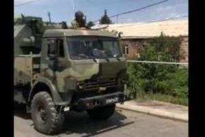 Российские военные со стрельбой вломились в армянское село