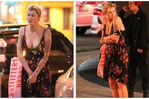 Дочь актера Алека Болдуина потеряла платье после бурной гулянки