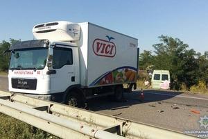 Знову Спринтер: в Одеській області у ДТП потрапила маршрутка з туристами