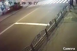 Появилось новое шокирующее видео ДТП в Харькове