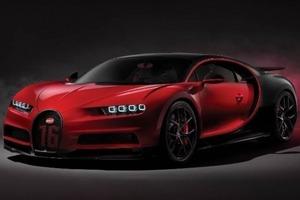 Bugatti презентовала гиперкар от которого сносит крышу