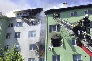 Взрыв жилого дома под Киевом. Есть пострадавшие