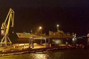 Українські кораблі кинули якір в порту Бердянська