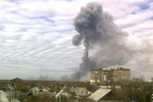 В Донецке прогремел сильный взрыв