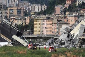 Власти пояснили, почему упал мост в Генуе