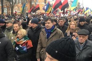 Саакашвили заявил о готовности к переговорам по уходу Порошенко
