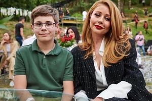 Тина Кароль рассказала о реакции сына на ее нового избранника