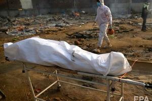Індія фіксує рекордну кількість смертей від COVID-19