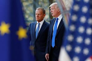 Меньше восторгов. Туск рассказал об отношении Трампа к Украине
