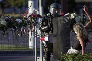 Третий день протестов в Беларуси. Главное. Фото, видео
