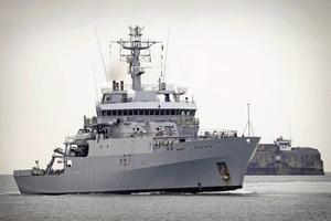 Агрессия РФ на Азове: в Черное море зашел корабль НАТО