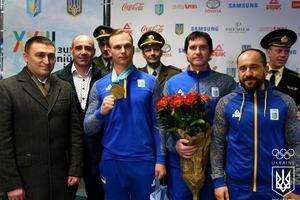 Олимпийская сборная вернулась в Киев из Пхенчхана