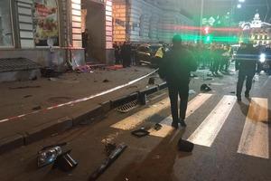 Количество жертв кровавого ДТП в центре Харькова увеличилось до шести