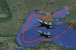 Российские бомбардировщики устроили провокацию под Одессой
