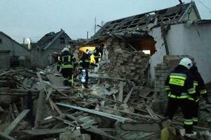 Фастовская трагедия повторилась в Херсоне: дом от взрыва сложился внутрь