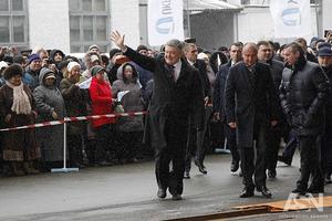 Рабочий день закончился: Порошенко не встретился с митингующими