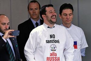Итальянский министр назвал аннексию Крыма законной, а Майдан - псевдореволюцией
