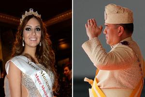 Міс Москва розлучається з королем Малайзії, який залишився без престолу