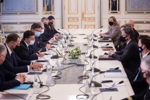 Почалася зустріч Зеленського з Держсекретарем США Блінкеном
