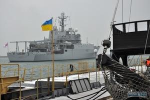 Корабль НАТО зашел в порт Одессы