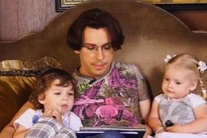 Галкін опублікував зворушливе відео, як діти проводжають його на роботу