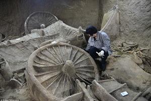 В Китае нашли захоронение древней династии, погребенной вместе с табуном лошадей