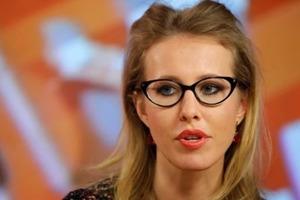 Собчак приехала в Киев и феерически опозорилась