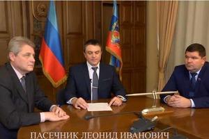 Новый главарь «ЛНР» обратился с заявлением к жителям «республики»