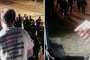 Это скандал: В Будапеште прошла акция