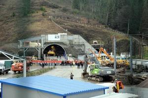 Порошенко сьогодні відкриє Бескидський тунель, який з'єднає Україну та ЄС