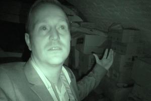 Охотник за привидениями заявляет, что его разодрали призраки